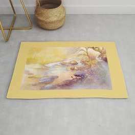 Golden Reflections Rug