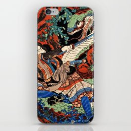 Ukiyo-e, Dragon iPhone Skin