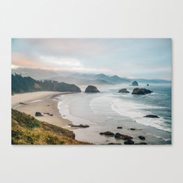 Alone in the beauty of the earth Canvas Print