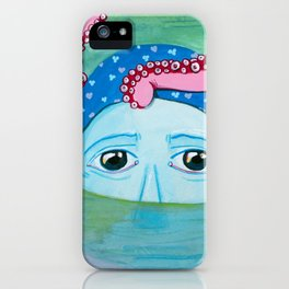 Drowning iPhone Case