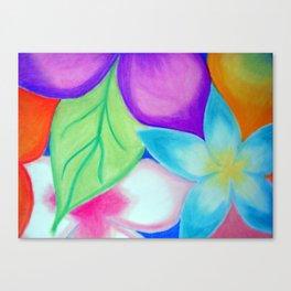 Friggin Flowerz Canvas Print