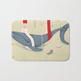 A whale has landed Bath Mat