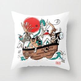 Ark's Miyazaki (version2018) Throw Pillow