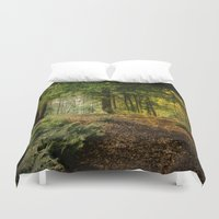 woodland Duvet Covers featuring Woodland by BlueMoonArt