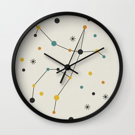 Andromeda Constellation Wall Clock