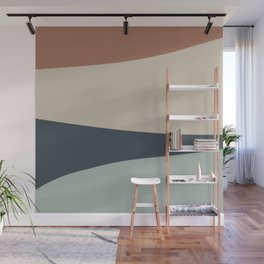 Cascade Color Block Wall Mural