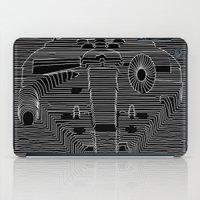 joy division iPad Cases featuring Millenium division by BomDesignz