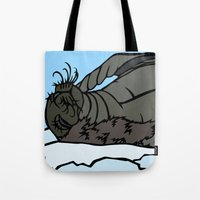 seal Tote Bags featuring Seal by Mel McIvor