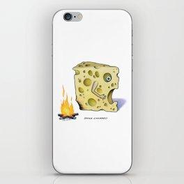 Swiss Charred iPhone Skin