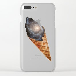 Lick the Universe Clear iPhone Case