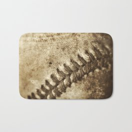 Vintage Baseball Memories 3 Bath Mat