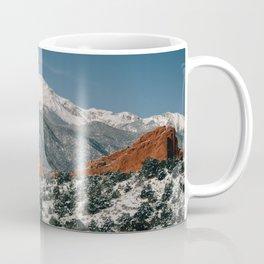 Snowy Mountain Tops Coffee Mug
