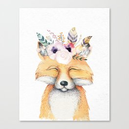 Forest Fox by Nature Magick Canvas Print
