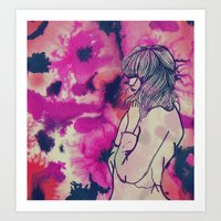 fringe Art Prints featuring Fringe by Annaleigh Louise