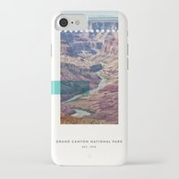 parks iPhone & iPod Cases featuring National Parks: Grand Canyon by Roadtrippers