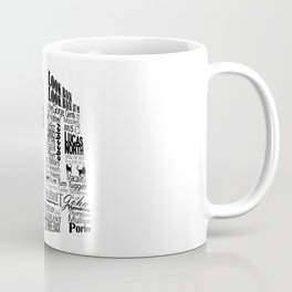 RA initial Coffee Mug