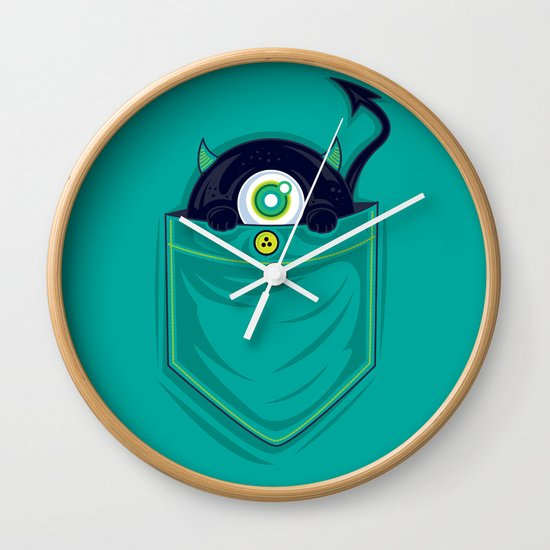 Pocket Monster Wall Clock