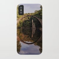 geology iPhone & iPod Cases featuring Mystical stone arch by UtArt