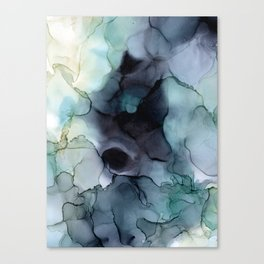 dark waters Canvas Print