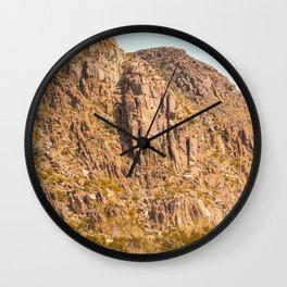 Landscape Joshua Tree 7344 Wall Clock