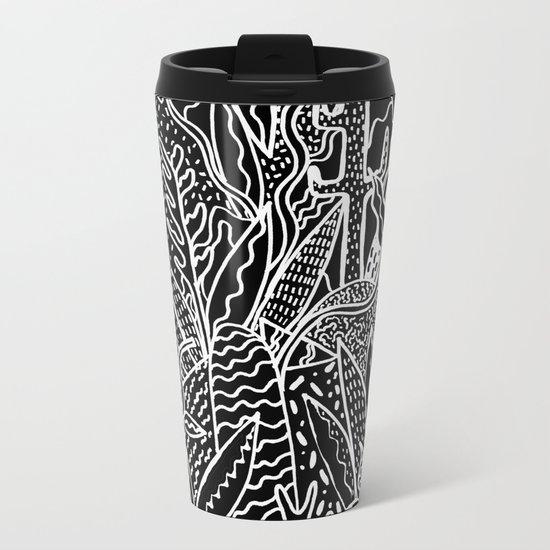 THE GARDEN Metal Travel Mug