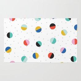 Color Block Dots Rug