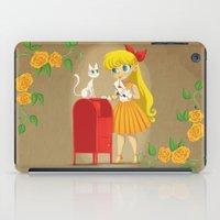 sailor venus iPad Cases featuring Retro Sailor Venus by Crimson Pumpkin