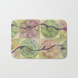 Ribbon Pattern Bath Mat