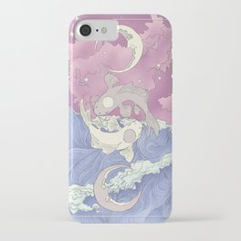 Moon and Ocean Spirts,Yin and Yang iPhone Case