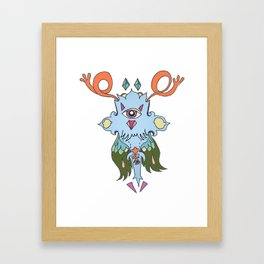 Beneficent Cylclowlverlord Framed Art Print