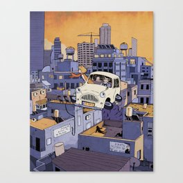 Once Upon a Future: Tel-Aviv, 2013 Canvas Print