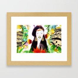 IP Woman Framed Art Print