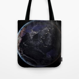 The Earth at Night 2 Tote Bag