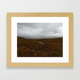 2017: Scottish Highlands Framed Art Print