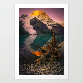 Mount Robson (Fine Art Landscape Photography) Art Print