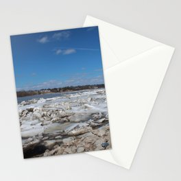 Winter on the Maumee I Stationery Cards