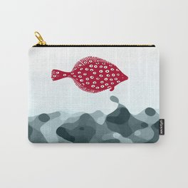 Little Red Fish Carry-All Pouch