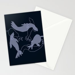 Ghost Seals Stationery Cards