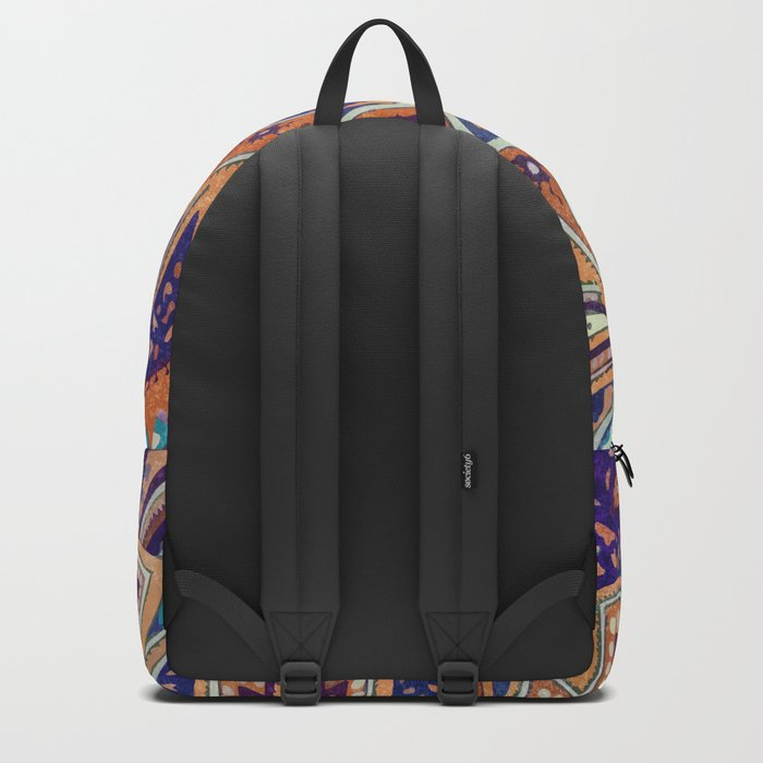 Summer paisley Backpack