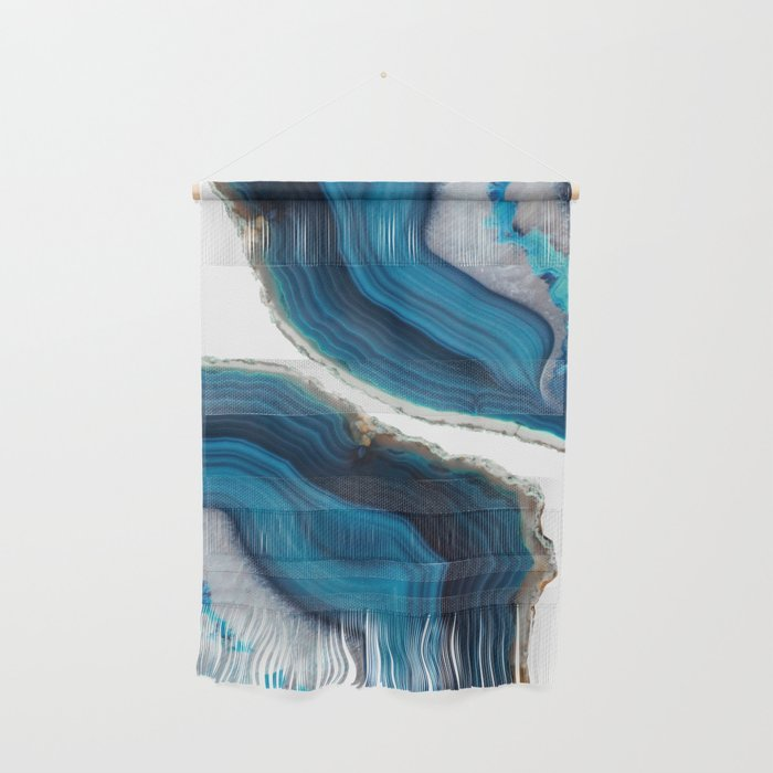 Blue Agate Wall Hanging