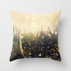 Hidden in the Magic Garden Throw Pillow