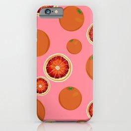 Oranges Pattern iPhone Case