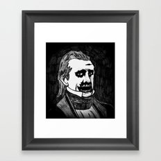 11. Zombie James K. Polk  Framed Art Print