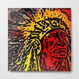 Chiefs Metal Print