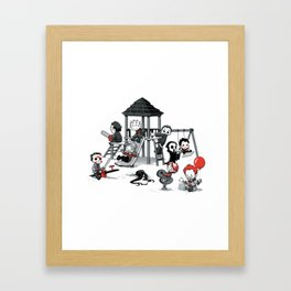 Horror Park Framed Art Print