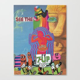 SEE THE LIGHT (7Up!) Canvas Print