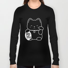 Stay Lucky WHT Long Sleeve T-shirt