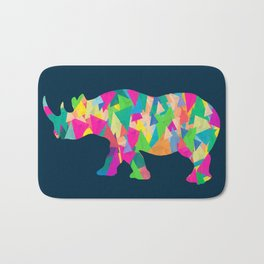 Abstract Rhino Bath Mat