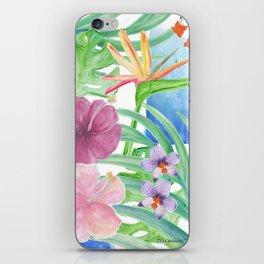 Malia's Tropical Print iPhone Skin