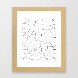 Hatches Framed Art Print
